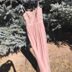 Bridesmaid Dress - Pale Taupe Pink